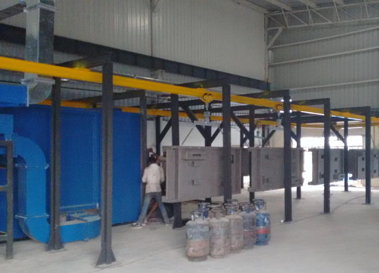 Powder Coating Plant For heavy jobs