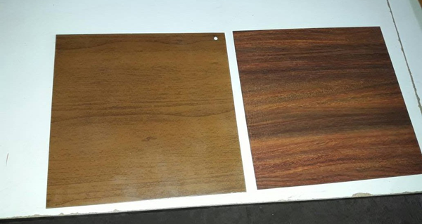 Wood Finish On Sheet