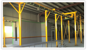 Conveyors For Powder Coating Plants